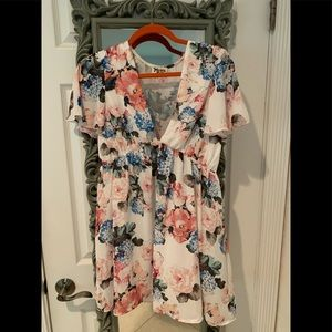 Show me your MuMu small floral mini dress